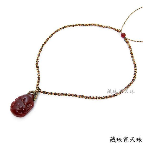 《藏珠家天珠》十二星座-- 處女座天珠項鍊