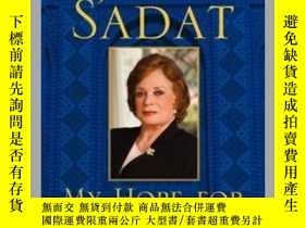 二手書博民逛書店My罕見Hope for PeaceY362136 Jehan Sadat Free Press (April