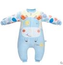 食尚玩家W    嬰兒睡袋  秋冬加厚可拆卸分腿睡袋防踢被   90cm