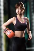 【華歌爾】輕運動5星級防護D罩杯 M-3L 運動內衣(健美黑)