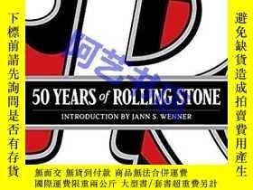 二手書博民逛書店50罕見Years of Rolling Stone: The