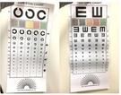 視力檢查表 C型款/E型款/擋眼板 視力表【艾保康】