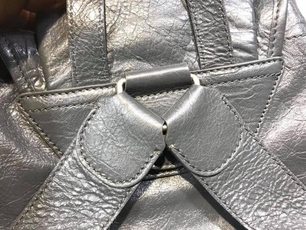 ■現貨在台■專櫃55折■ Balenciaga 全新真品 340139 Classsic Traveler 大款中性(男款)後背包 灰色