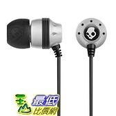[美國直購] Skullcandy INK'D Bud 3.5mm Stereo Headset (Silver) SCS2INDW-045 耳機