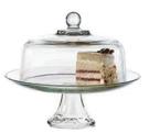美國 Anchor 二用高腳蛋糕盤 含蓋  A-87892