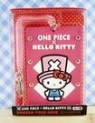 【震撼精品百貨】ONE PIECE&HELLO KITTY_聯名海賊王喬巴&凱蒂貓系列~證件夾-粉色