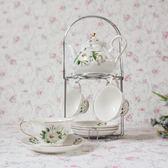 萬聖節快速出貨-陶瓷咖啡杯具套裝英式茶具紅茶杯碟