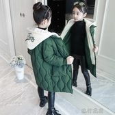 女童秋冬裝外套韓版棉服女孩中長款洋氣棉衣兒童加厚棉襖快速出貨快速出貨快速出貨