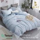 【BEST寢飾】天絲床包兩用被四件式 雙人5x6.2尺 度假 100%頂級天絲 萊賽爾 附正天絲吊牌