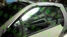 【一吉】07-14年 賓士W451 Smart 鍍鉻飾條款 +原廠型 晴雨窗 /外銷日本(W451晴雨窗,W451 晴雨窗