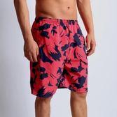 男速乾溫泉情侶海邊度假平角寬鬆泳褲PLL3214【男人與流行】