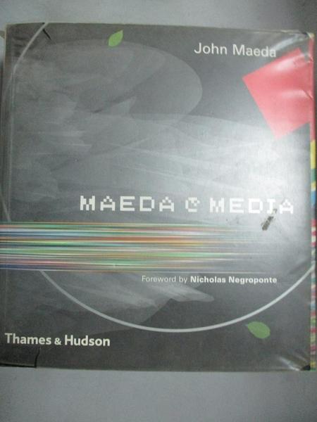 【書寶二手書T9/電腦_EOU】Maeda @ media_John Maeda; foreword by Nichol