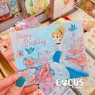 正版授權 迪士尼立體卡片 公主系列 仙杜瑞拉公主 灰姑娘 小卡片 萬用卡片 卡片 COCOS DA030
