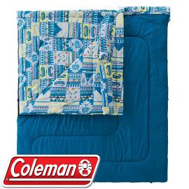 【Coleman 美國 2in1家庭睡袋 C5】CM-27257/睡袋/可機洗/露營/睡墊/棉被