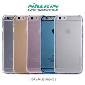 NILLKIN APPLE IPHONE 6S / 6 (4.7吋) 本色系列 TPU軟套 防塵塞設計 清水套 手機殼 保護殼 I6S / I6