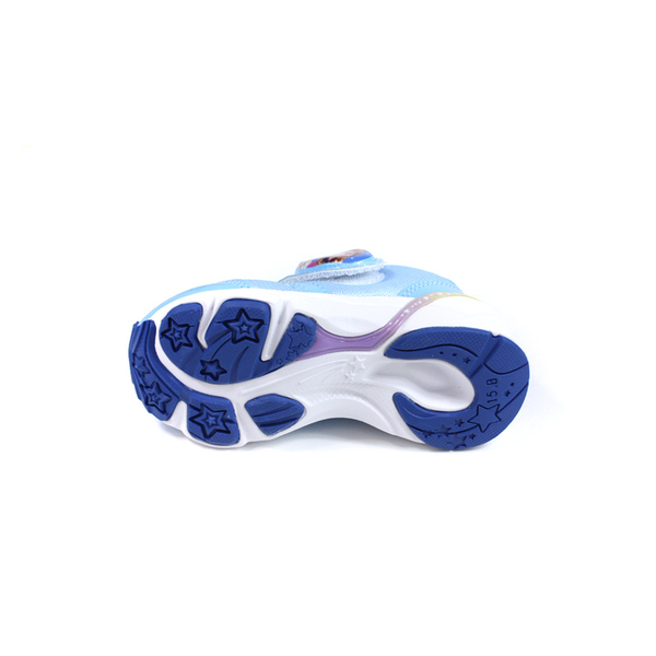 MoonStar 冰雪奇緣 休閒運動鞋 電燈鞋 童鞋 藍色 中童 DNC12619 no394