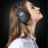 3M隔音耳罩睡眠睡覺工業學習用靜音耳機專業防吵神器防降噪音X5AMOON衣櫥