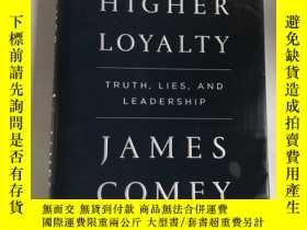 二手書博民逛書店A罕見Higher Loyalty: Truth, Lies,