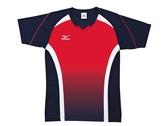 MIZUNO  美津濃 排球衣  (紅/藍) 練習衣 抗UV 快速排汗速乾  V2TA6G2114 【胖媛的店】