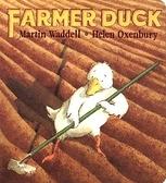 『童書久久書單』【麥克書店】FARMER DUCK /英文繪本附CD《主題:幽默》