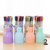 水彩筆 兒童水彩筆套裝幼兒園36色畫筆小學生繪畫彩色手繪可水洗安全無毒 1色