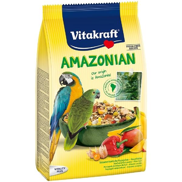 *KING WANG*德國Vitakraft Vita-中大型鸚鵡-南美洲鸚鵡總匯美食系列 750g (21643)