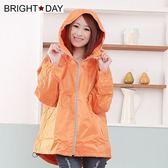BrightDay風雨衣外套 - 日系刷毛潮流款