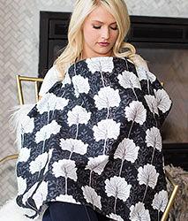 iae創百市集 美國Mothers Lounge Udder Cover 美型哺乳巾/哺乳遮罩-幸福桔梗