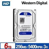 WD 威騰 WD60EZAZ 藍標 6TB 3.5吋 SATA硬碟