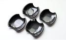【車王汽車精品百貨】Mazda 馬自達 Mazda6 馬6 碳纖維紋 門碗 保護蓋 2004-2007