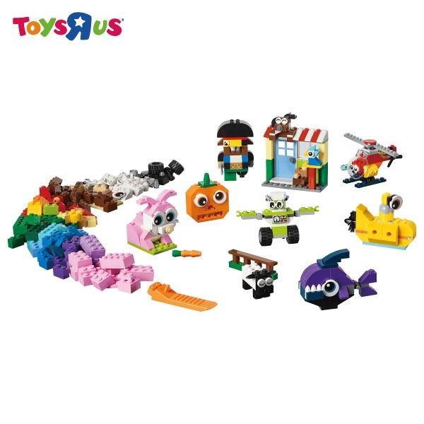 玩具反斗城 樂高LEGO CLASSIC 11003 大眼顆粒套裝