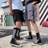 短褲工裝短褲女ins夏季五分休閒褲原宿嘻哈學生BF風寬松街頭潮 海角七號