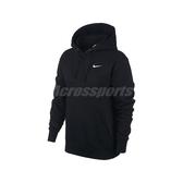 Nike 長袖T恤 NSW Essential Hoodie 黑 白 女款 帽T 連帽上衣 運動休閒 【PUMP306】 BV4119-010