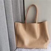 拿坡里淡奶油黃 大容量托特包 你綠獨立自制購物袋 快速出貨