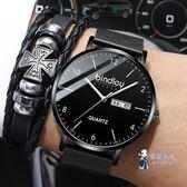 時尚男錶 刻字男士星空手錶男學生時尚潮流簡約休閒防水款男錶全自動機械錶 多色