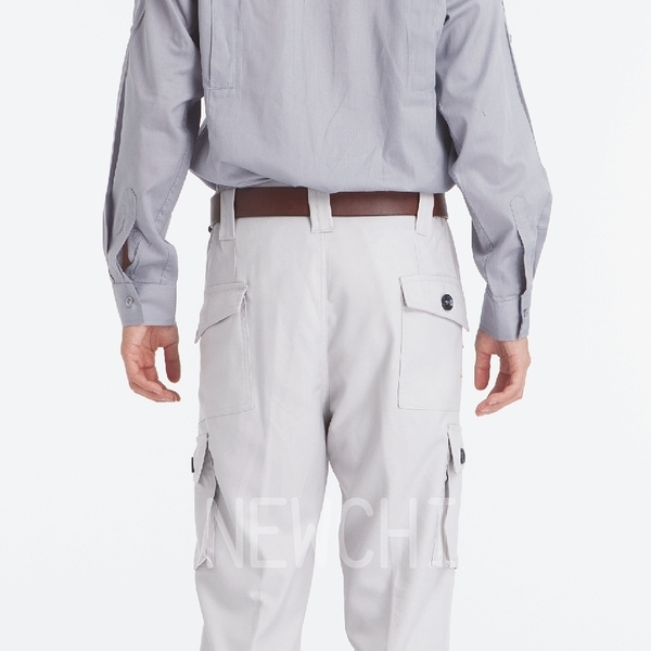【1406-13】日式多口袋工作褲(卡其色) /營造工程 機械製造 加工工作服