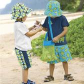 收納袋 兒童露營沙灘背袋 外出用品 旅遊 海邊 沙灘 露營 背包  【BPA004】123ok