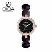 法國 BIBA 碧寶錶 純粹晶瓷系列 藍寶石玻璃 石英錶 B31BC050B 黑色 - 28mm