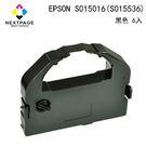【NEXTPAGE】EPSON LQ2550/2500/670/680/680C-S015016(S015536) 黑色相容色帶 (1組6入)