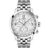 TISSOT天梭 T-Sport PRC 200 CHRONOGRAPH計時腕錶 T1144171103700
