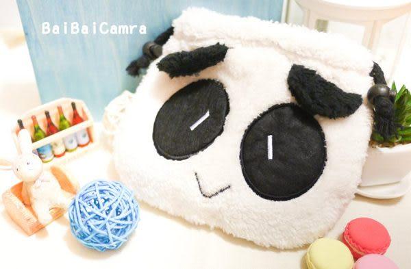 BaiBaiCamera  熊貓貓熊小單眼相機包拍立得 立可拍 g16 mini8 gf6 sp-1 /mini25 / gx1 nex-f3 gf3 nex-5t gf5 lx7