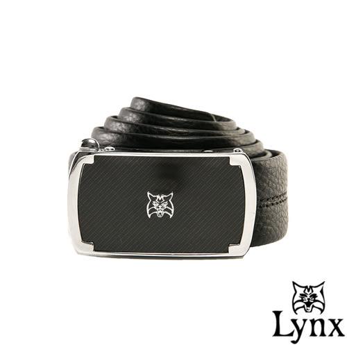 Lynx - 山貓城市系列魅力款自動扣真皮皮帶