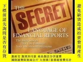 二手書博民逛書店The罕見Secret Language Of Financial ReportsY364153 Mark H