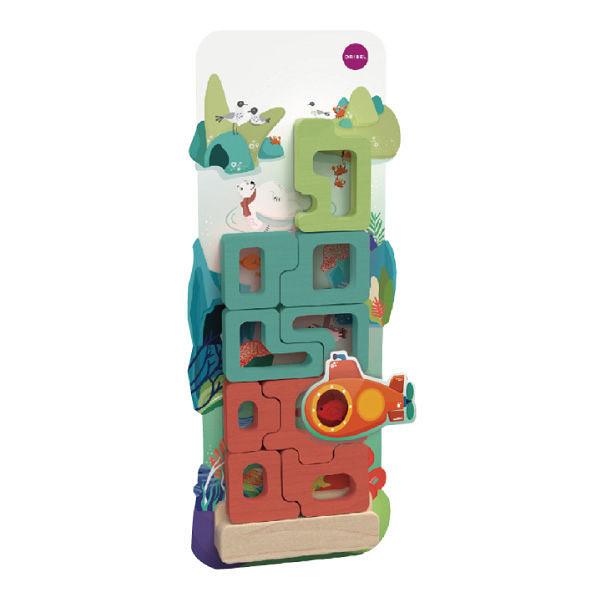 【新加坡Oribel-Vertiplay】創意壁貼玩具-Mystical Aquarium 神奇水族館 #OR818