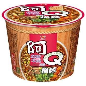 阿Q桶麵 紅椒牛肉風味 101g