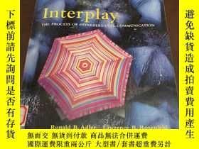 二手書博民逛書店Interplay罕見The Process of interp