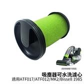 適用 Gtech Multi Plus MK2 Bissell 小綠手持吸塵器 可水洗濾心 副廠