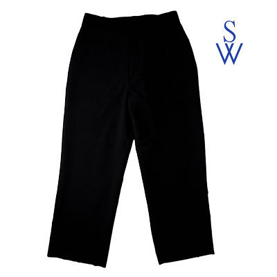 【WS 緯成】Suit Trousers 西裝長褲 / 黑直條