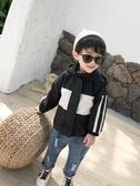 兒童洋氣外套冬裝寶寶加厚夾克男童秋裝男孩開衫上衣嬰兒夾棉衣服 潮流