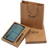 手帳本A6筆記本子簡約小清新創意記事本手賬禮盒套裝 雙12購物節